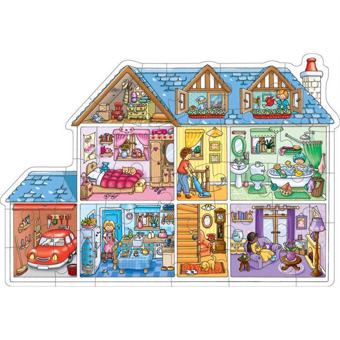 Orchard Bebek Evi Yapbozu (Dolls House)
