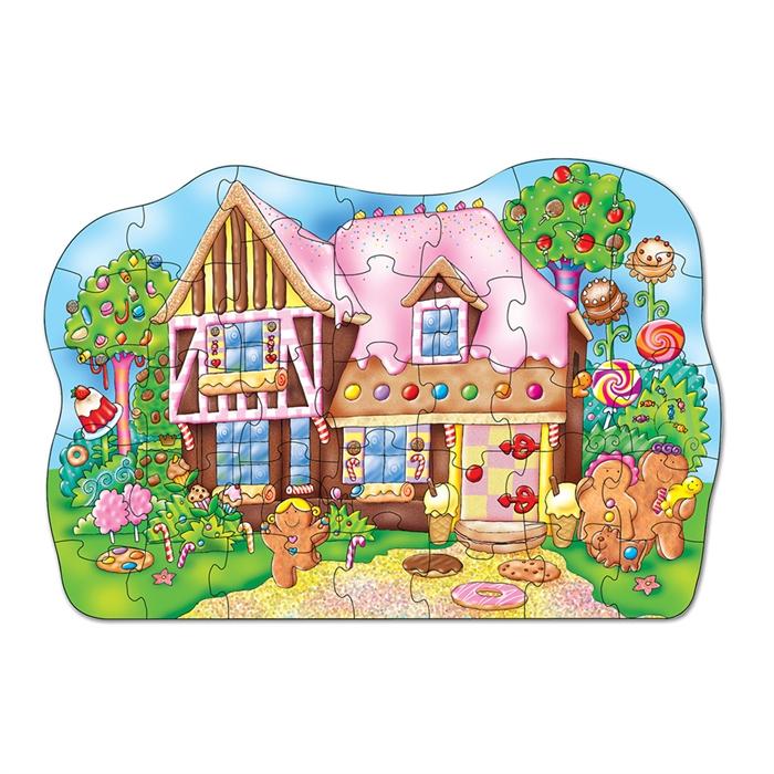 Orchard Kurabiye Evi Yapbozu (Gingerbread House)