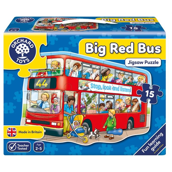 Orchard Büyük Otobüs Yapbozu (Big Bus)