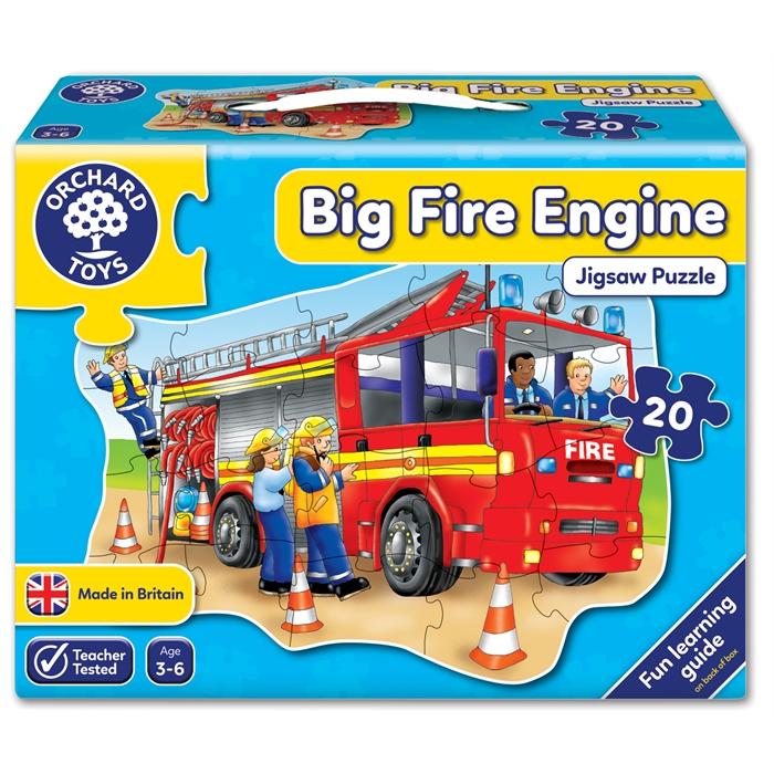 Orchard Büyük İtfaiye Aracı Yapbozu (Big Fire Engine)