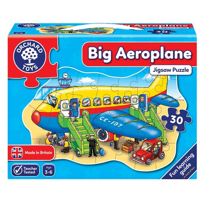 Orchard Büyük Uçak Yapbozu (Big Aeroplane)