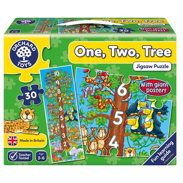 Orchard 1-2-3 Sayılar Yapbozu