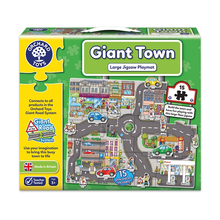 Orchard Dev Şehir Yapbozu (Giant Town)