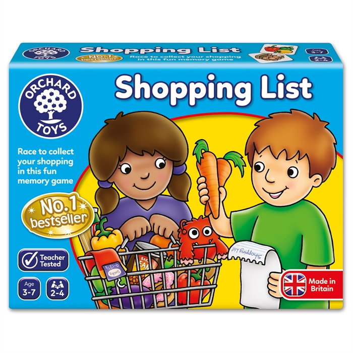 Orchard Shopping List