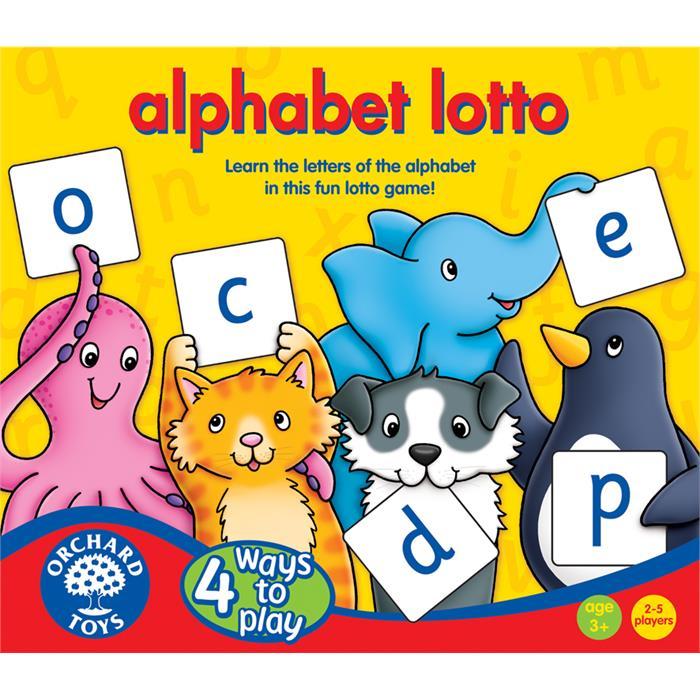 Orchard Alfabe Tombala (Alphabet Lotto)