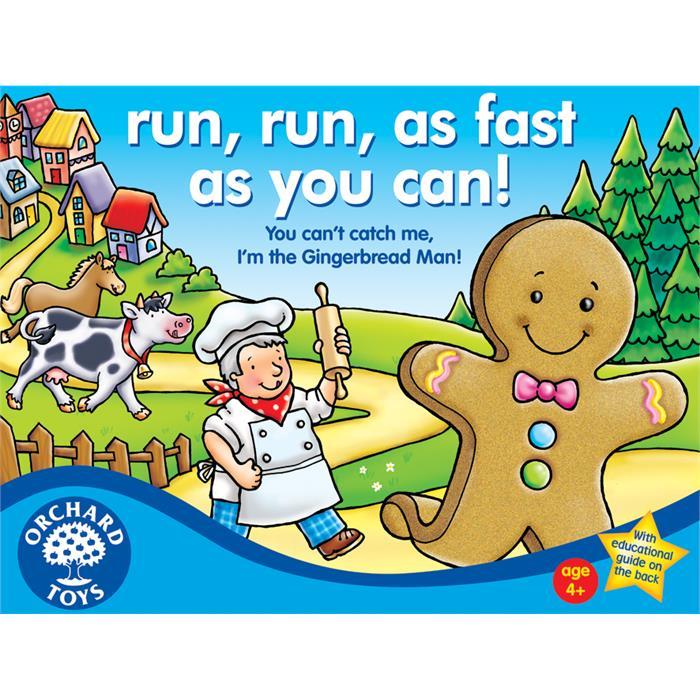Orchard Kurabiye Çocuğun Maceraları (Run Run As Fast As You Can)