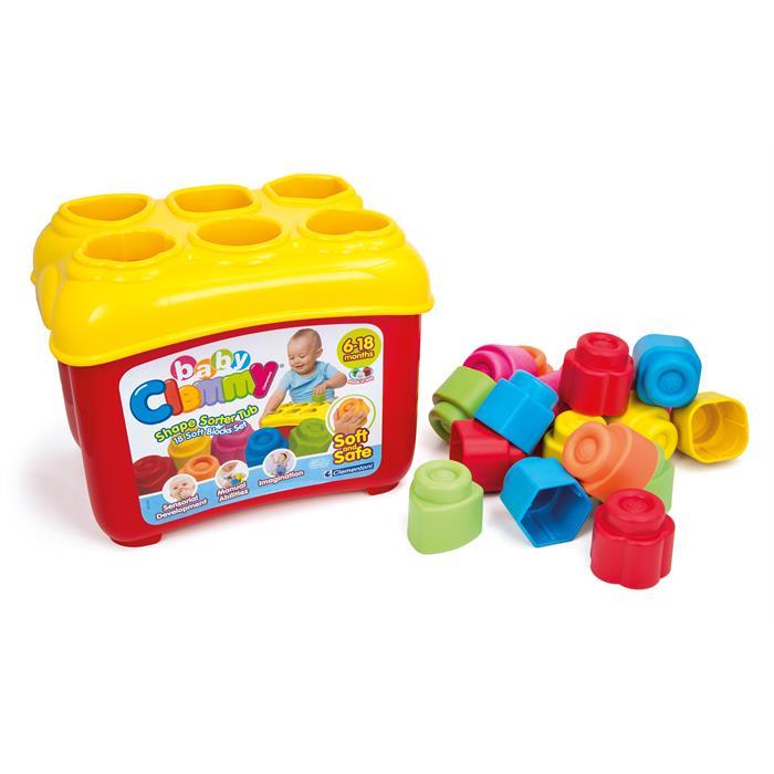 Clementoni Baby Clemmy Bultak Sepeti 18 Parça