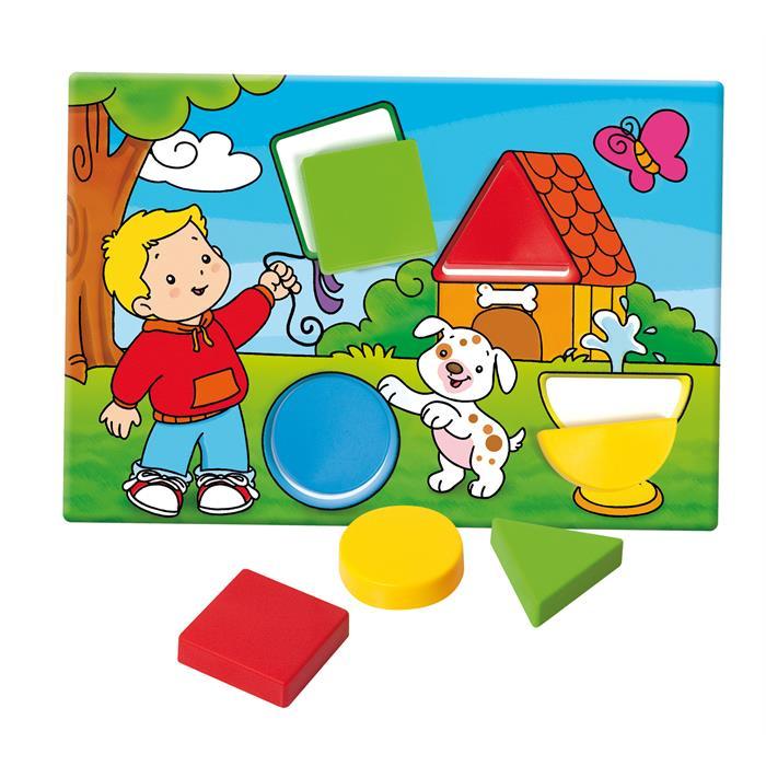 Clementoni Oyna ve Öğren Şekiller ve Renkler