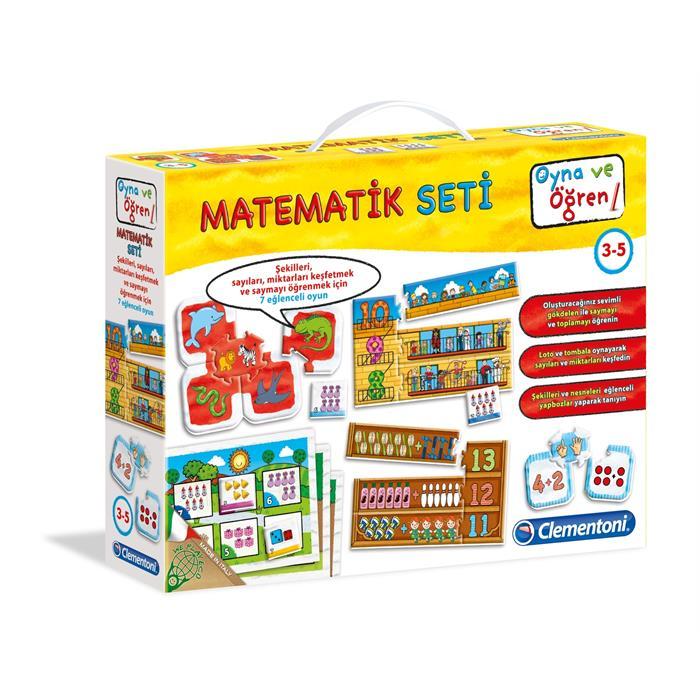 Clementoni Oyna ve Öğren Matematik Seti