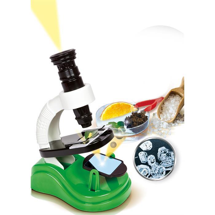 Clementoni İlk Keşif Seti - Mikroskop