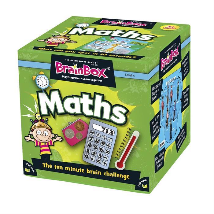 BrainBox Matematik (Maths) (İngilizce)