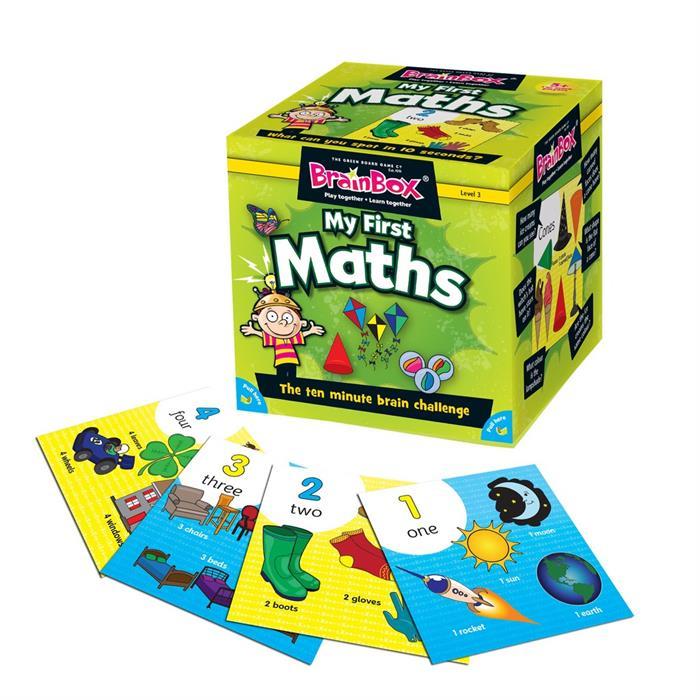 BrainBox Matematikle İlk Tanışmam (My First Math) (İngilizce)