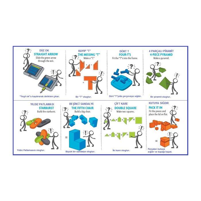 ThinkFun Zeka Kiti (Brainteaser Kit)