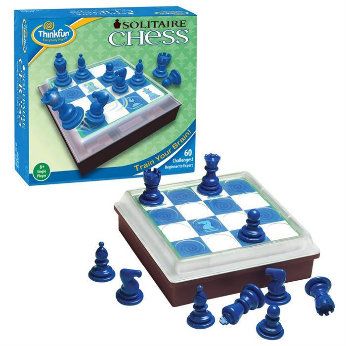 ThinkFun Tek Kişilik Satranç (Solitaire Chess)