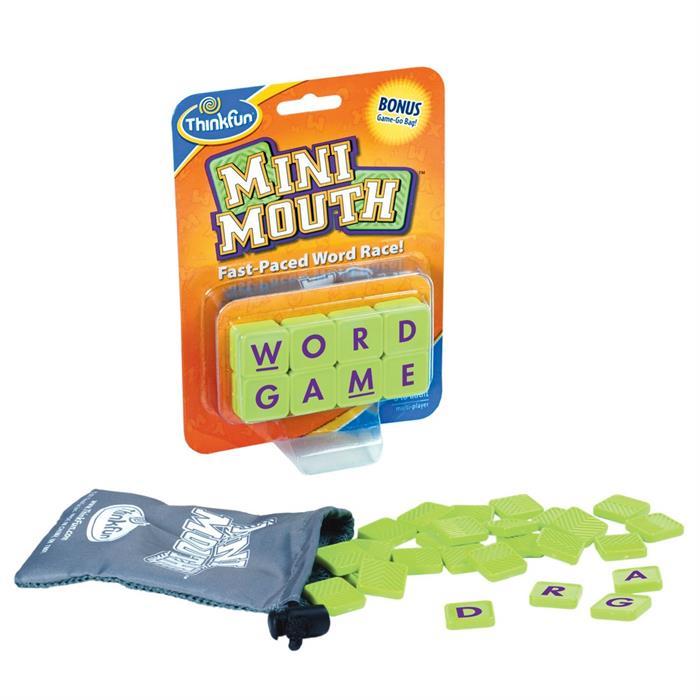ThinkFun Kelime Üretme - İngilizce (Mini Mouth)