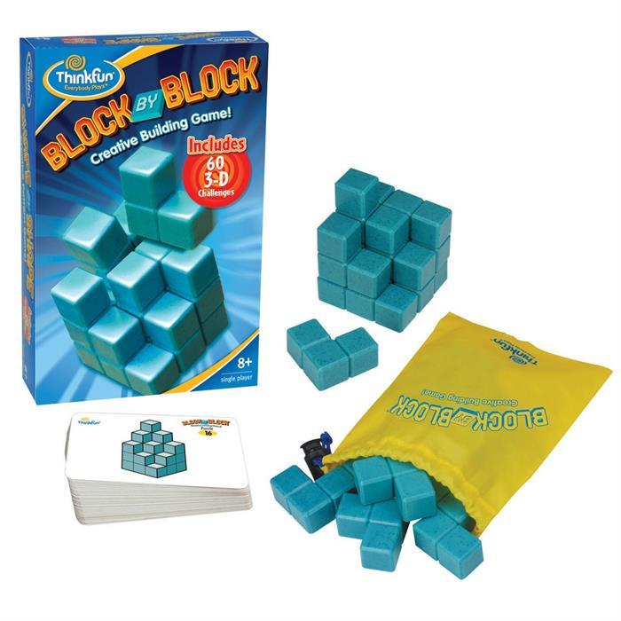 ThinkFun Sihirli Bloklar (Block by Block)
