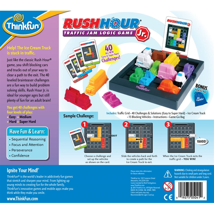 ThinkFun Trafik Çocuk (Rush Hour Jr.)