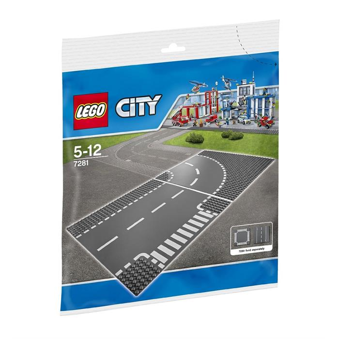 Lego City T-junction and Curve