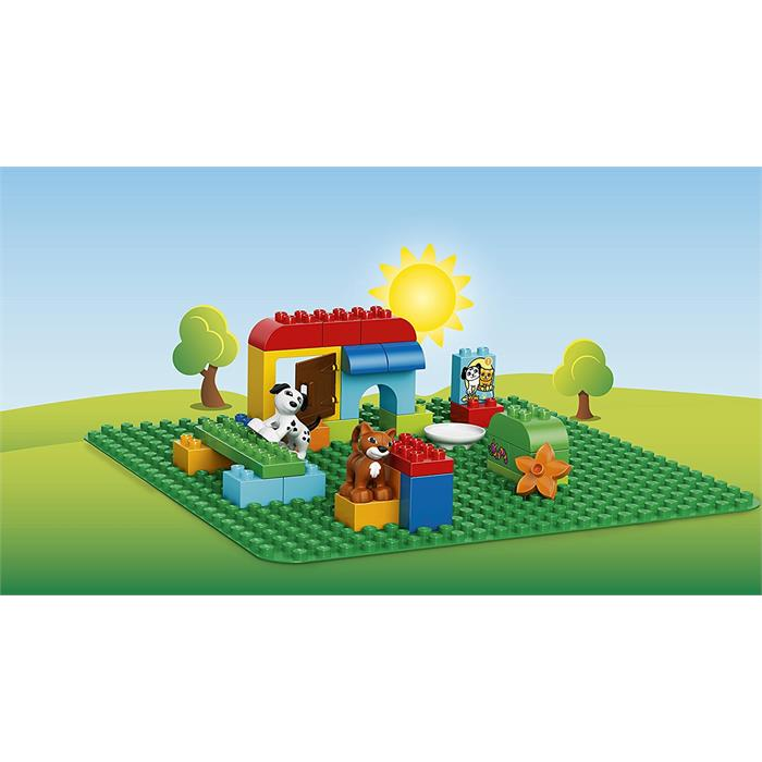 Lego Duplo 2304 Büyük Yeşil Zemin (Large Green Building Plate)