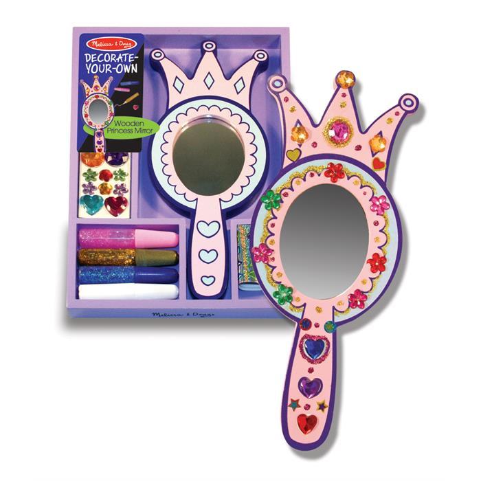 Melissa and Doug Ahşap Prenses Aynası - Sen Yap Sen Oyna