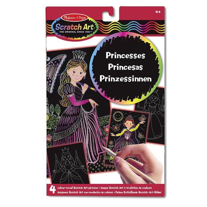 Melissa and Doug Kazıma Sanatı - Renkleri Ortaya Çıkar - Prensesler