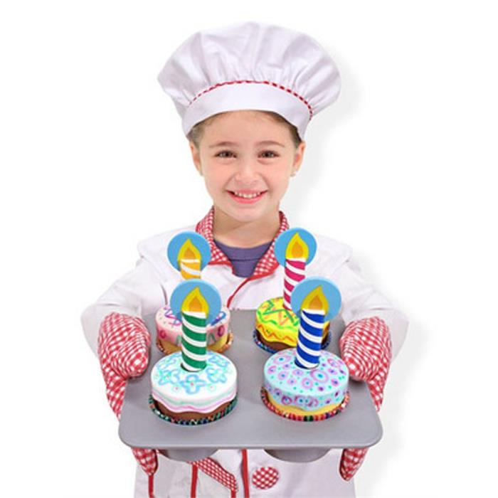 Melissa and Doug Ahşap Cupcake Seti