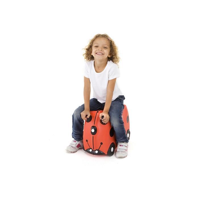 Trunki Çocuk Bavulu - Uğurböceği Harley