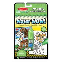 Melissa and Doug Water Wow! Su ile Boyama Kitabı - Evcil Hayvanlar Bulmaca