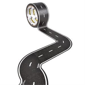PlayTape Klasik Yol Serisi Keskin Viraj 2inç - Siyah