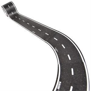 PlayTape Klasik Yol Serisi Geniş Viraj 2inç - Siyah