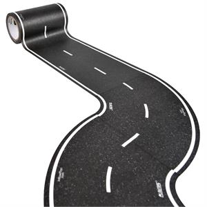 PlayTape Klasik Yol Serisi Keskin Viraj 4inç - Siyah