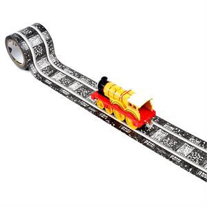 PlayTape Klasik Demiryolu Serisi 15ft x 2inç - Siyah