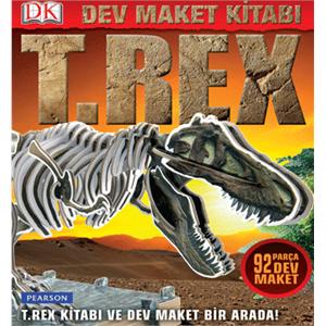 3 Boyutlu Dev Maket Kitabı T-Rex