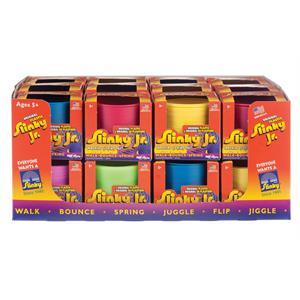 Slinky Küçük Boy Renkli Plastik Slinky