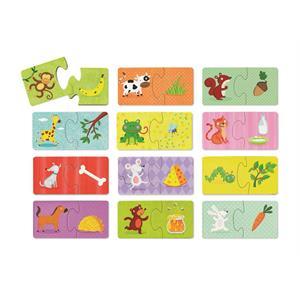 Crocodile Creek 2 Parçalı Puzzle - Hayvanlar Ne Yer?