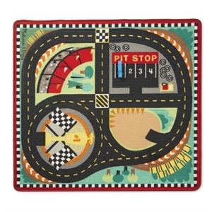 Melissa and Doug Oyun Halı Seti - Yarış Arabaları
