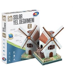 PAL Solar Yel Değirmeni 3D Puzzle