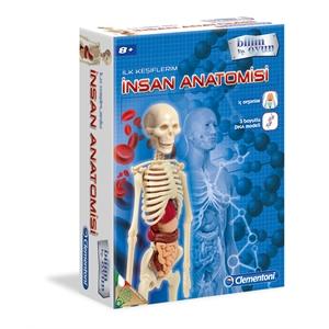 Clementoni İlk Keşiflerim - İnsan Anatomisi
