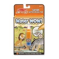 Melissa and Doug Water Wow! Su ile Boyama Kitabı - Safari