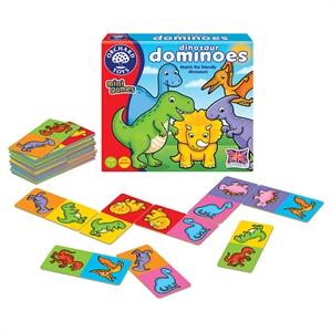 Orchard Dinosaur Dominoes (Sevimli Dinozorlar Mini Domino)
