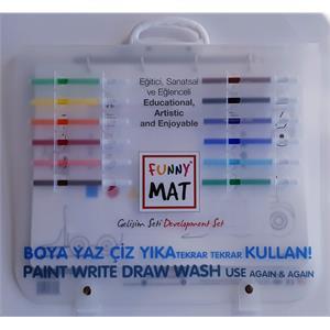 Akademi Çocuk Funny Mat - Gelişim Seti 38x45 cm