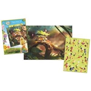 Uniset Uniset Sihirli Çıkartma Seti - Disney Fairies Tinkerbell