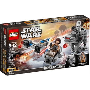 Lego Star Wars 75195 Ski Speeder vs First Order Walker Microfighter