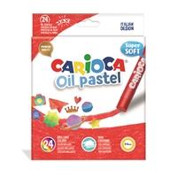Carioca Yağlı Pastel Boya Kalemi 24'lü
