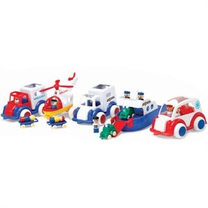 Viking Toys Acil Kurtarma Taşıtları 5 Parça
