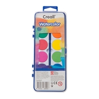 Creall Suluboya 12 Renk ve Fırça