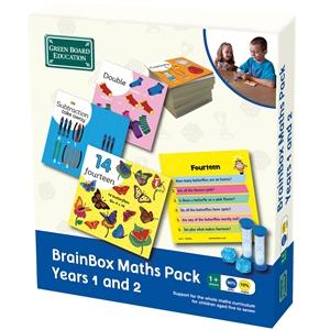 BrainBox Matematik Paketi 1-2 (Maths Pack Years 1 and 2) (İngilizce)