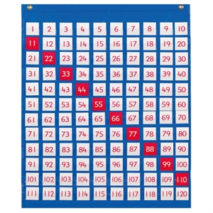 EDX 120 Pocket Chart