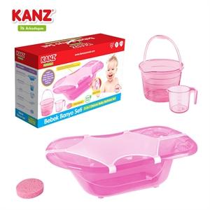 Kanz Bebek Banyo Seti - Pembe