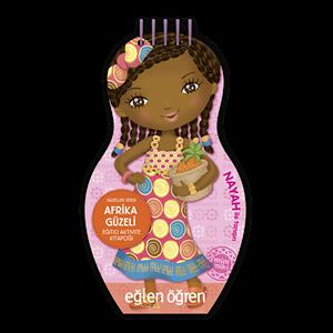 Eğlen Öğren Güzeller Serisi Afrika Güzeli